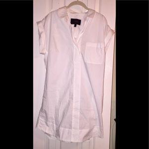 J. Crew shirt-dress - large - white